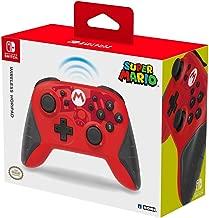HORI Nintendo Switch Wireless HORIPAD Mario Edition Rechargeable Controller - Nintendo Switch