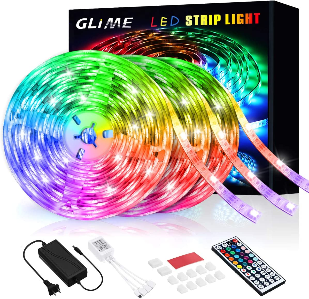 RGB LED Strip Ranking TOP15 Lights 59ft security 5050 GLIME Changing 18m Color