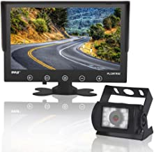 Upgraded 2017 Backup Rear View Car Truck Camera & Monitor System, Waterproof, 9