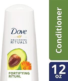 DOVE Hair Nourishing Rituals Fortifying Ritual Conditioner, 12 Fl Oz (Pack of 1)