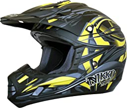 Nikko Helme Natas Enduro/Cross Helm, Matt Gelb, M
