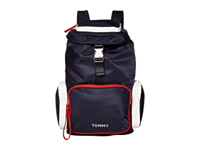 Tommy Hilfiger Nylon Backpack (Corporate) Backpack Bags