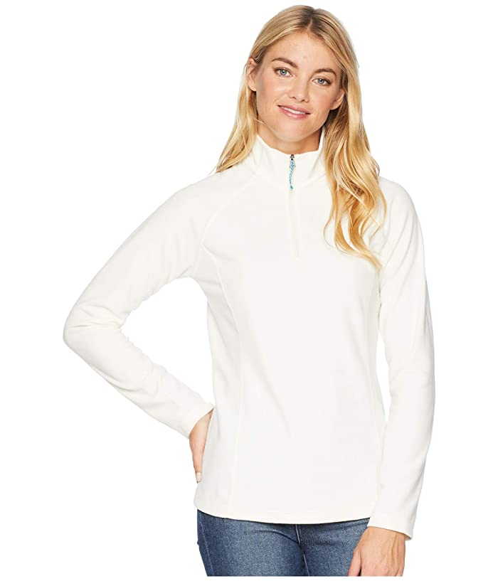 White Sierra Alpha Beta 1/4 Zip (Milky White) Women