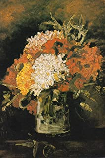 still life with carnations van gogh