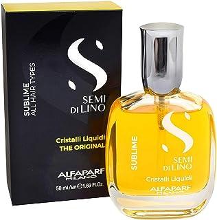 Alfaparf, siero illuminante istantaneo, semi di lino Diamond, cristalli liquidi, 50ml