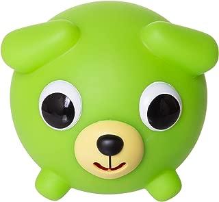 Jabber Ball Japan Oshaberi Doubutsu Talking Animal by Sankyo Toys - Borukuma Stress Relievers Squishy Ball - Neon Green Dog