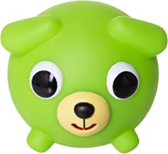 Jabber Ball Japan Oshaberi Doubutsu Talking Animal by Sankyo Toys - Borukuma Stress Relievers Squishy Ball - Neon Green Dog