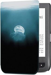 Etui ochronne na e-book, Przypadek do Pocketbook Touch Lux 3 / Pocketbook Podstawowy 3 EREADER Lekka pokrywa ultraczej mod...