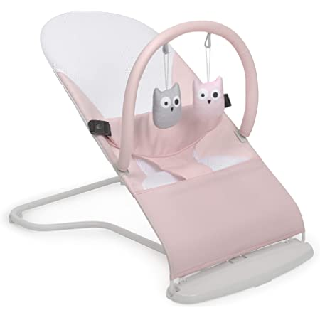 Innovaciones MS 1115 - Hamaca Para Bebé Lullaby - Plegable Y Portatil 2 En 1 Mecedora Y Silla, Unisex