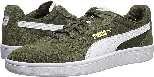 Forest Night/Puma White/Puma Team Gold