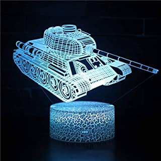 Night Lights for Kids Big Truck 3D Night Light Bedside Lamp Car 16 Colors Changing with Remote Control Best Birthday Gifts...