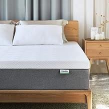Queen Mattress, Novilla 10 inch Gel Memory Foam Queen Size Mattress for Cool Sleep & Pressure Relief, Medium Firm Bed Matt...