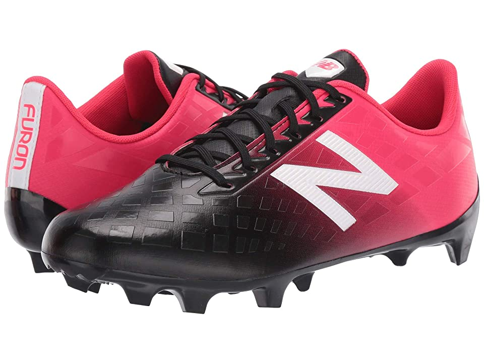 New Balance Furon 4.0 Dispatch FG (Bright Cherry/Black) Men's Soccer Shoes