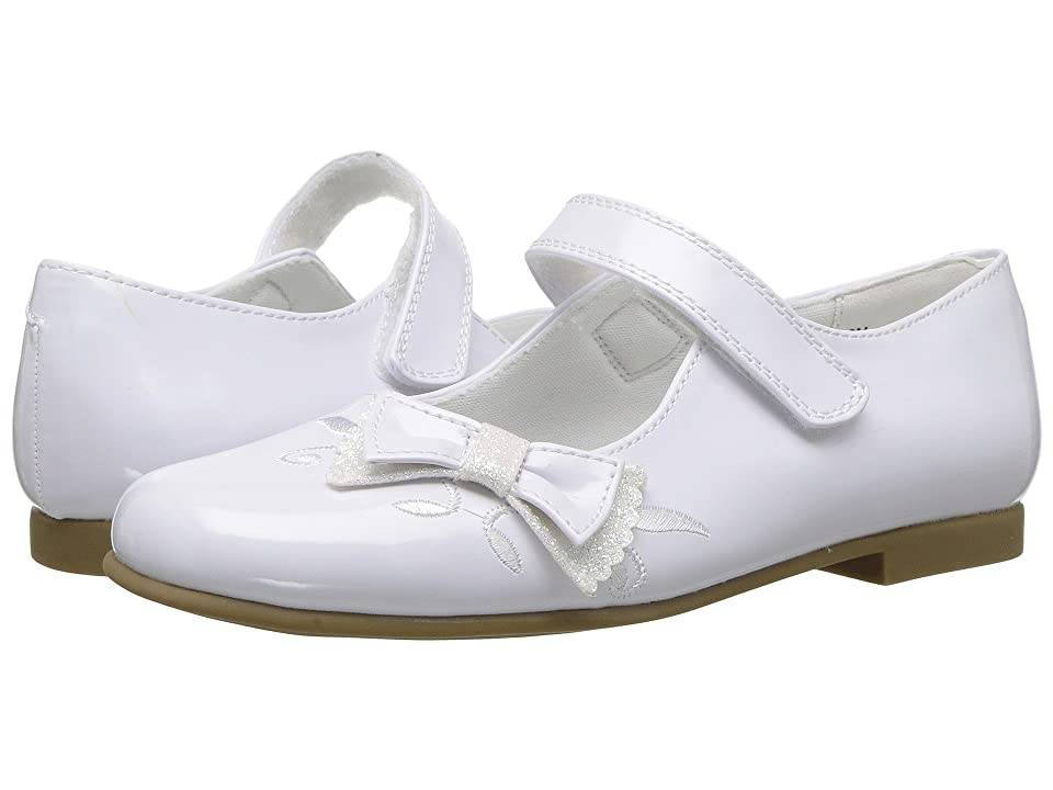 Rachel Kids Farah (Little Kid) (White Patent) Girl