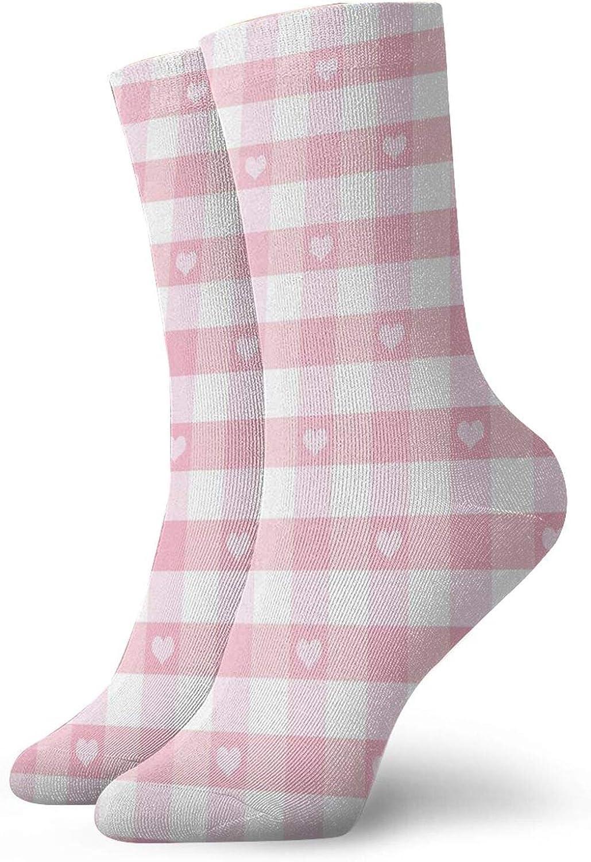 Compression High Socks Love Valentines Romantic Pattern With Little Hearts Children Kids Girlish,Socks Women and Men-Best for Running,Athletic,Hiking,Travel,Flight