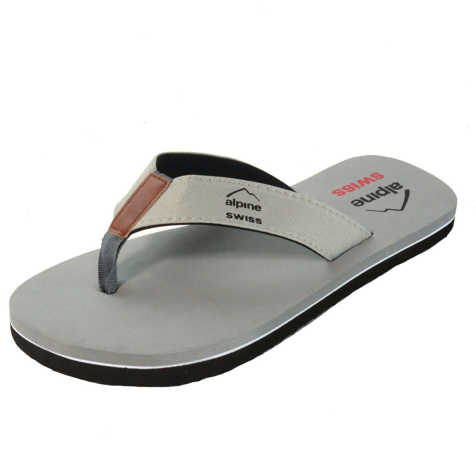 alpine swiss Sandals Comfort Thongs