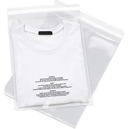 """4 X 6 Clear Resealable Cellophane Cello Bags with Self Seal Adhesive for Retail//Artwork and Apparel 4/"""" X 6 200 Pack 200 Pack"""