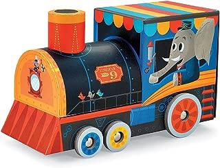 Crocodile Creek – Locomotive Train – 24-piece Puzzle & Vehicle Play Set