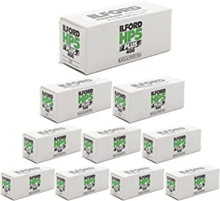 10 Rolls Ilford HP5 400 120 Film