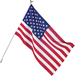 Best Valley Forge Flag AA-US1-1 Poly-Cotton American Flag Kit, 3