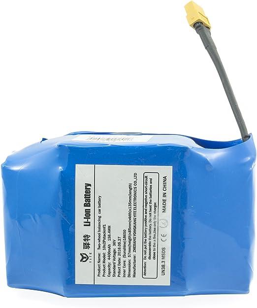 Batería compatible con monobloque manillar scooter eléctrico ...