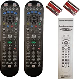 Best Spectrum TV Remote Control 3 Types to Choose FromBackwards Compatible with Time Warner, Brighthouse and Charter Cable Boxes (Pack of Two, UR5U-8780L) Review