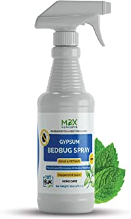 MDXconcepts Bed Bug Killer Spray, Natural Organic Formula Fastest, 16 oz