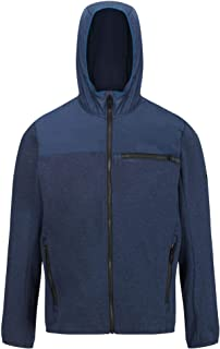 Regatta Men's Upham Hybrid Hooded Softshell Jacket With Zipped Pockets Jacket