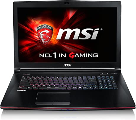 MSI GE72-2QFi7W16SR21BW 43 9 cm  17 3 Zoll  Laptop  Intel Core i7-5700HQ  2 7GHz  16GB RAM  256GB SSD  NVIDIA GF GTX 970M  Windows 10 Home  schwarz grau