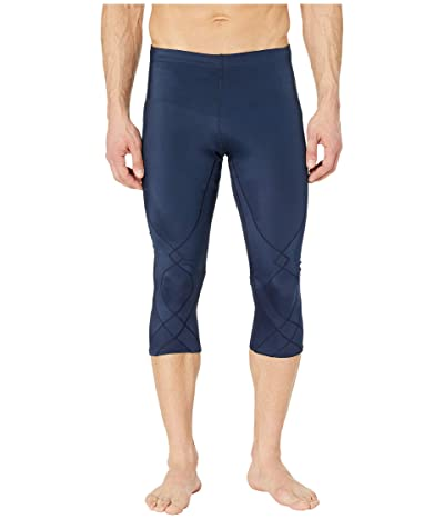 CW-X 3/4 Stabilyx Tights (True Navy) Men