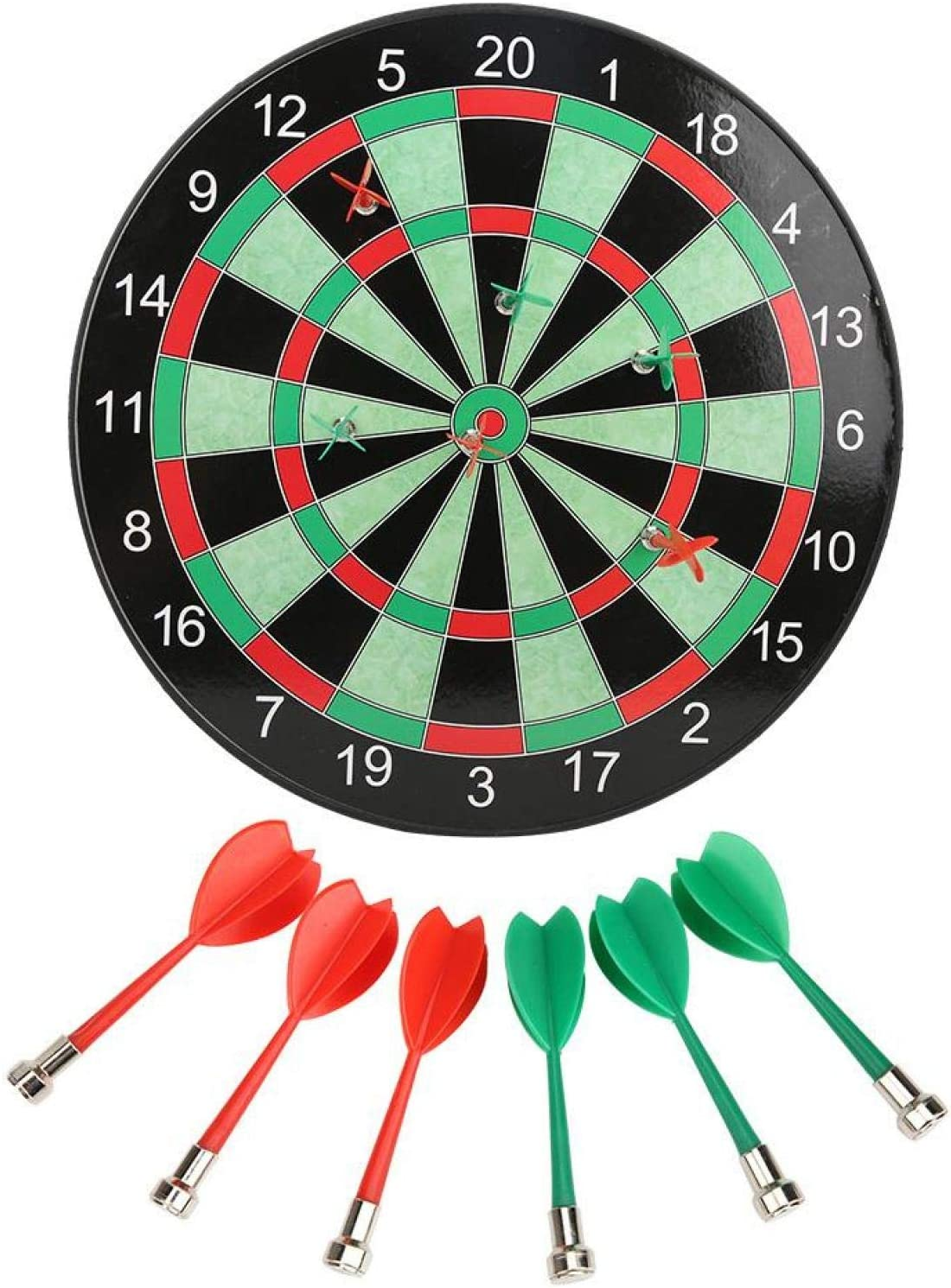 01 Board, 15in Dartboard Game Boys Toys Gifts for Office and Fam