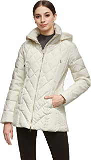 Orolay Women's Thickened Puffer Down Jacket Hooded Coat