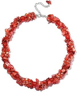 "Shop LC Delivering Joy Fancy Resin Necklace 20"""