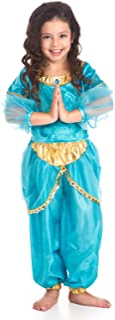 Little Adventures Niñas Princesa árabe Tradicional Costume - Pequeño (1-3 Años).