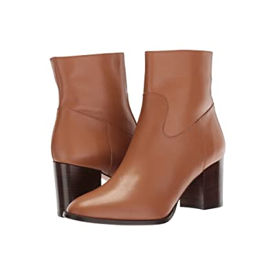 L.K. Bennett Jourdan (Cognac Calf Leather) Women