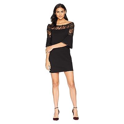 BB Dakota Desperado Off the Shoulder Dress (Black) Women