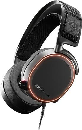 SteelSeries Arctis Pro Cuffie da Gioco Driver dello Speaker ad Alta Risoluzione, Audio Surround DTS Headphone:X v2.0, Cablata, Nero [Edizione 2019] - Confronta prezzi