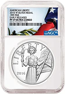 2016 w american liberty silver medal
