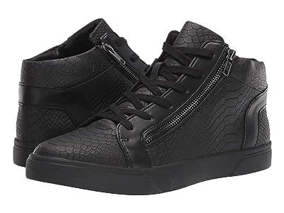 Steve Madden Rayne High-Top Sneaker (Black Snake) Men