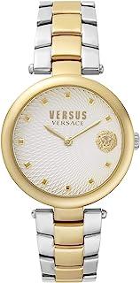 ساعة فيرساس انالوج مينا فضية للنساء VSP870618