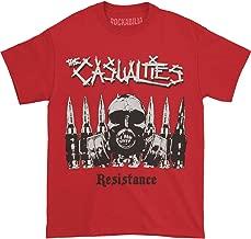 Casualties Men's Resistance Tee T-Shirt Red