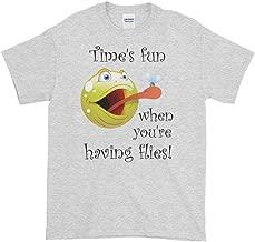 Time's Fun When You're Having Flies T-Shirt (Unisex)