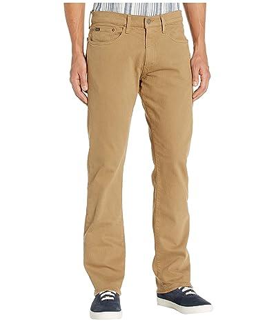 Polo Ralph Lauren Five-Pocket Denim Good in Hudson Khaki Stretch (Hudson Khaki Stretch) Men