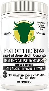 BONE BROTH Premium Beef Bone Broth Concentrate Mushroom Flavor - 100% Sourced From AU Grass-Fed, Pasture-Raised Cattle - Healthier Skin & Nails, Healthy Digestion - Bone Broth Collagen