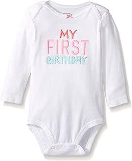 Carter's My First Birthday Bodysuits