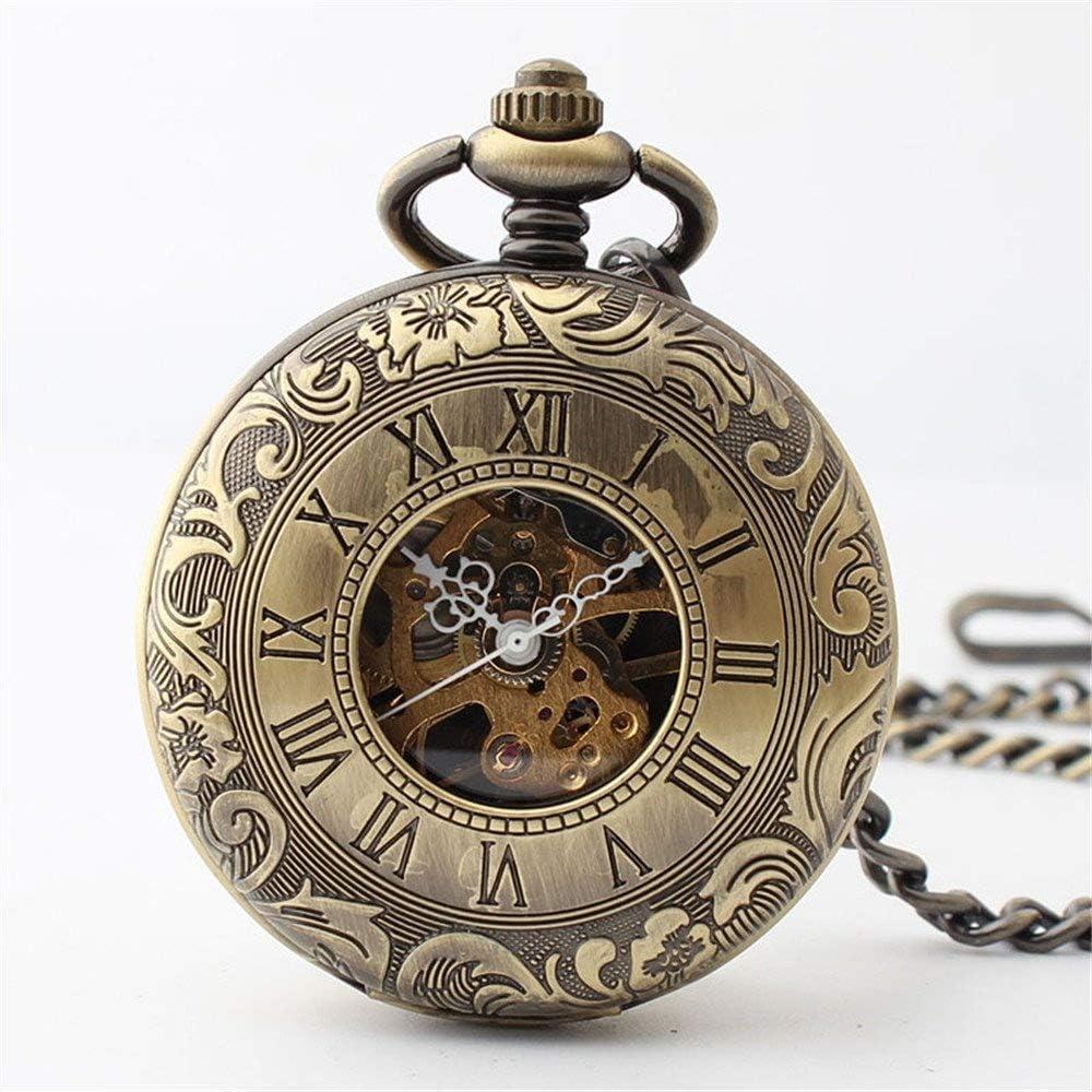 Manufacturer OFFicial shop XJJZS Vintage Roman Numerals Scale Chai Watch Bargain sale Pocket with Quartz