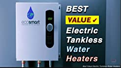 Ecosmart Eco 11 Electric Tankless Water Heater 13kw At 240 Volts With Patented Self Modulating Technology Instant Hot Water Heater Amazon Com