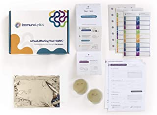 ImmunoLytics DIY Mold Test Kit, Expert Lab Analysis, Easy to Use, Quick Results (6 Rooms/Plates)