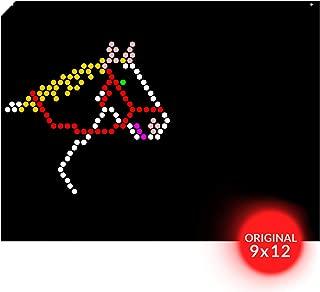 IllumiPeg Lite Brite Refills for Original Lite Bright Toy - Farm Animal Art Templates (10 Sheets)