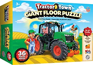 MasterPieces Tractor Town - 36 Pc Shaped Floor Puzzle